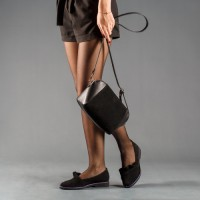 Замшевая сумочка женская LL №901118 black