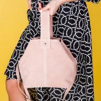 Женская сумка натуральная замша LL №902425 розовый