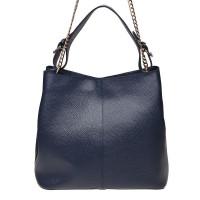 Женская сумка из натуральной кожи Ricco Grande 1L887 blue