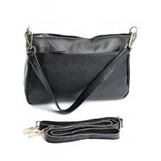 Женский кожаный клатч Parse №1190 Black