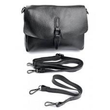 Женская сумка из натуральной кожи Parse №1933 Черный