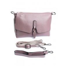 Женская кожаная сумка Parse №1933 Фиолетовый