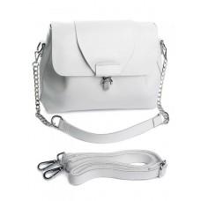 Женская кожаная сумка Parse №2029 White