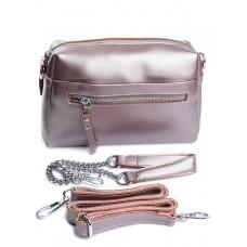 Женская сумка натуральной кожи Parse №2057-8 Розовый