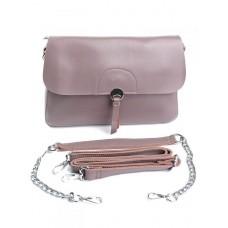 Женская кожаная сумка Parse №2072G Розовый