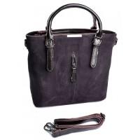 Женская сумка натуральная кожа Parse №3061-1 Коричневый