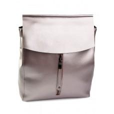 Рюкзак кожаный женский №3206 Розовый