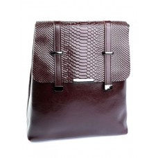 Женский рюкзак кожаный Parse №3212-5 коричневый