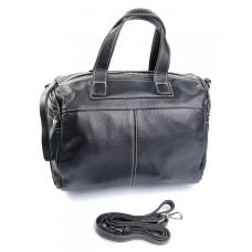Женская сумка натуральная кожа Parse №560 черный