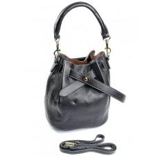 Женская сумка натуральной кожи Parse №567 Черный