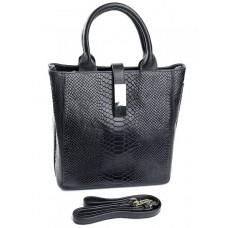 Женская сумка из натуральной кожи Parse №586 черный