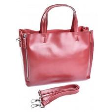 Женская сумка кожаная Parse №650 Красный