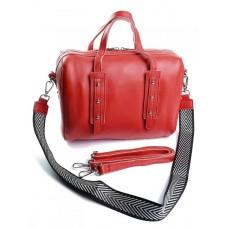 Женская сумка из натуральной кожи Parse №6668-9 Красный