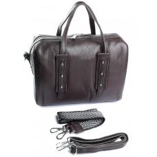 Женская сумка из кожи Parse №6668-9 Коричневый