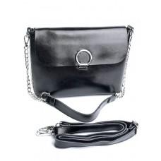 Женская сумка кожа Parse №753 Черный