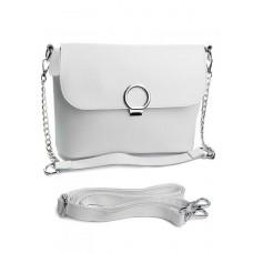 Женская сумка из кожи Parse №753 Белый
