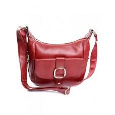 Кожаная женская сумка Parse №7717-1 Красный