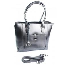 Женская сумка кожа Parse №8085G Серый