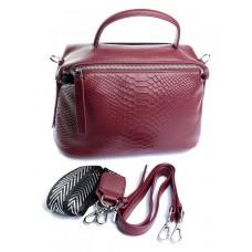 Женская сумка кожа Parse №80927 Темно-красный