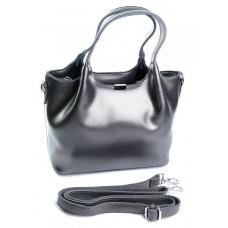 Женская кожаная сумка Parse №8106 Серый