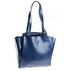 Кожаная сумка женская Parse №810HK Синий