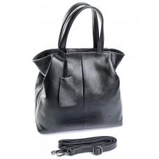 Женская кожаная сумка Parse №823 черный