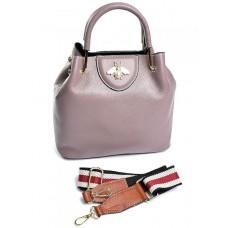 Женская сумка из кожи Parse №86001 Сиреневый