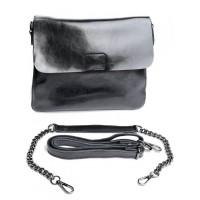 Кожаная сумка Parse №8604 Черный