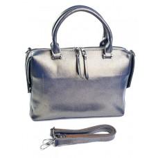 Женская сумка из кожи №8665 Золото