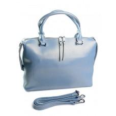 Женская сумка из натуральной кожи Parse №8665 Голубой