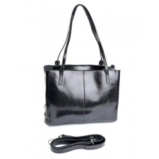 Женская сумка кожаная Parse №869 Черный