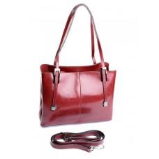 Женская сумка кожаная Parse №869 Красный