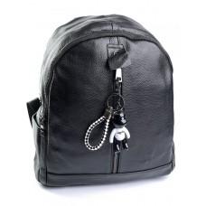Женский рюкзак из натуральной кожи Parse №87006 черный