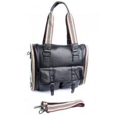 Женская сумка из кожи Parse №87051 Черный