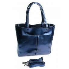 Женская сумка кожаная Parse №8711 Синий