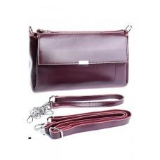 Женская сумка натуральной кожи №8721 Красный