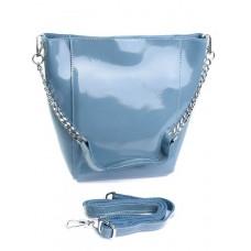 Женская сумка из кожи Parse №8726-3 голубой