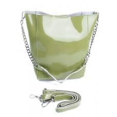 Женская сумка кожа Parse №8726-3 зеленый