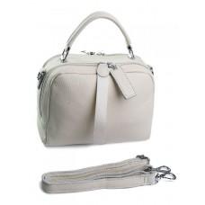 Женская сумка кожаная Parse №8731-9 Бежевый