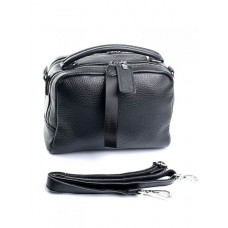 Женская кожаная сумка Parse №8731-9 Черный