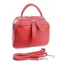 Женская сумка кожа Parse №8731-9 Красный