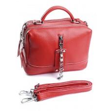 Женская сумка кожа Parse №8776-9 Красный