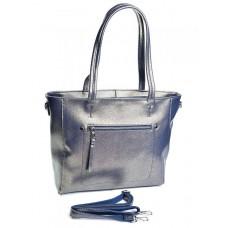 Женская кожаная сумка №8778 Золото