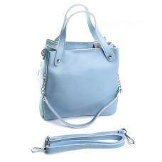 Женская сумка натуральная кожа Parse №8784 Голубой