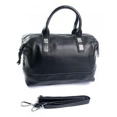 Женская сумка кожаная Parse №8790-9 Черный