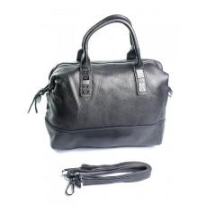 Женская кожаная сумка Parse №8790-9 Серебро