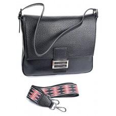 Женская сумка из натуральной кожи Parse №881HK Черный