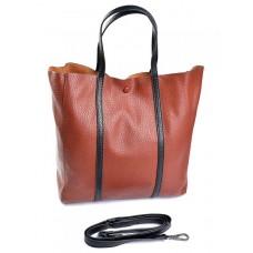 Женская сумка из натуральной кожи Parse №882 Рыжий