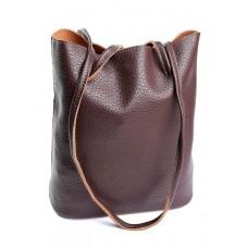 Кожаная сумка женская Parse №885HK Коричневый