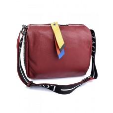 Женская сумка натуральная кожа Parse №887 бордовый